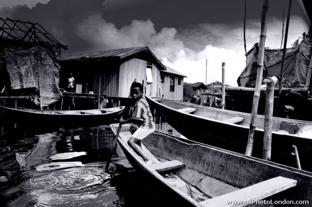 Zdjęcia: Makoko, Lagos, Lagos, Slums of Makoko, NIGERIA