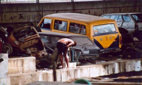 Zdjęcie NIGERIA / brak / Lagos / Poranna kąpiel