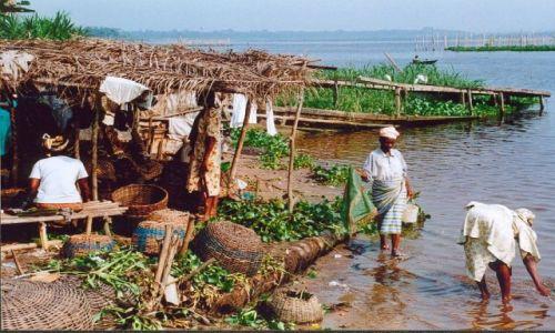 NIGERIA / brak / Okolice Lagos / Laguna rzeki Niger