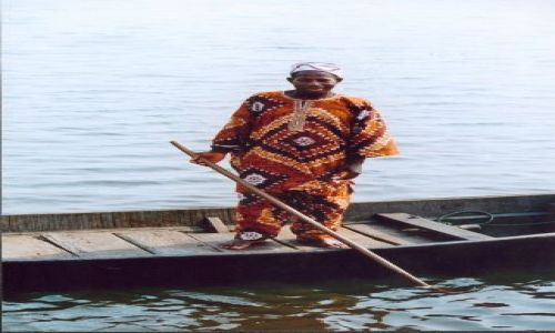 Zdjęcie NIGERIA / brak / Okolice Lagos / Rybak