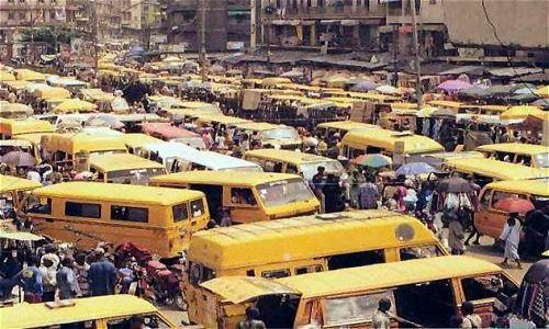 NIGERIA / brak / Lagos / Ulica Lagos