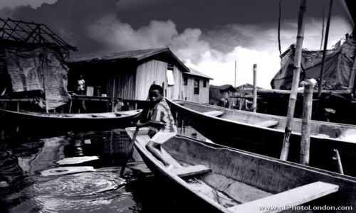 Zdjecie NIGERIA / Lagos / Makoko, Lagos / Slums of Makoko