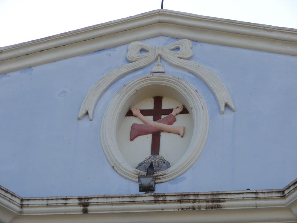 Zdjęcia: Managua, Managua, Franciszkański symbol, NIKARAGUA
