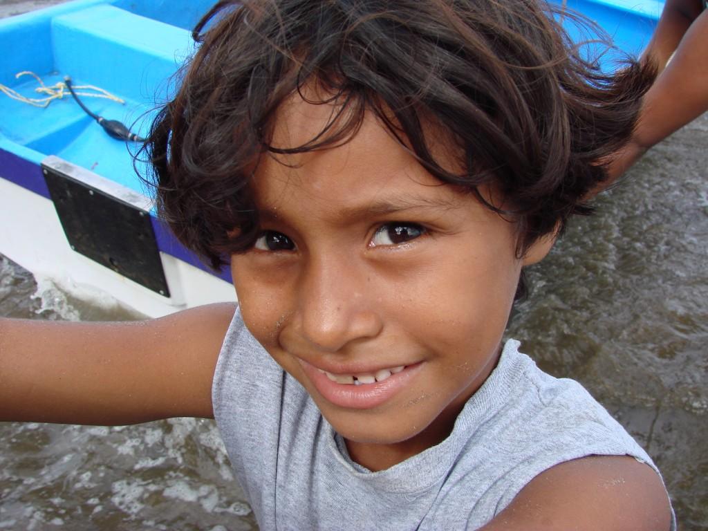 Zdjęcia: Nad Oceanem, Nad od Oceanem, Dziecko  , NIKARAGUA