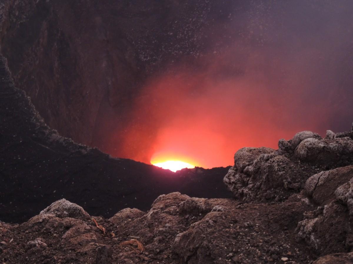 Zdjęcia: Wulkan Masaya , Usta Piekieł , NIKARAGUA