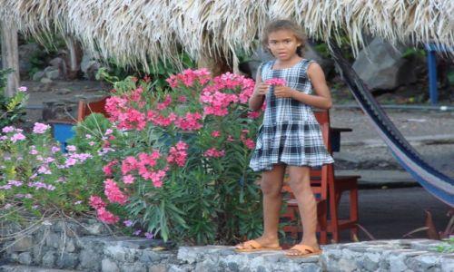 Zdjęcie NIKARAGUA / Stolica / Stolica / Kwiaty nad wodą..