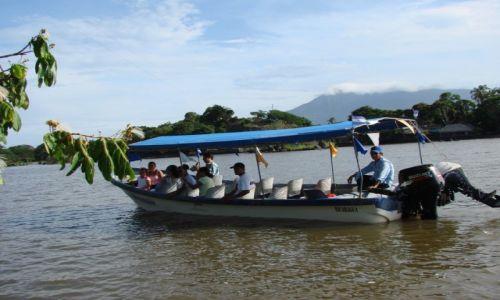 Zdjęcie NIKARAGUA / Jezioro Managua / Jezioro Managua / Stateczek