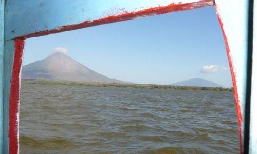 Zdjęcie NIKARAGUA / Ometepe / z promu / nasz cel