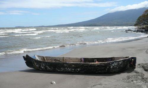 NIKARAGUA / Jezioro Nikaragua / plaza / krajobraz bez ryby