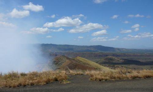 NIKARAGUA / Masaya / w parku / kraina wulkanów