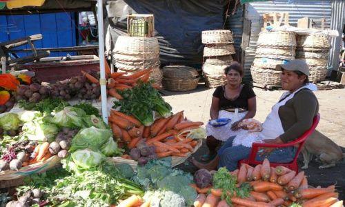 NIKARAGUA / Granada / targ / dorodne warzywa
