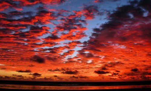 NIKARAGUA / zacodnie wybrzeże / dzika plaża:-) / zachód