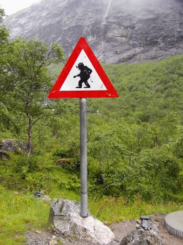 Zdjęcia: Droga Trolli, Uwaga Trolle ;), NORWEGIA