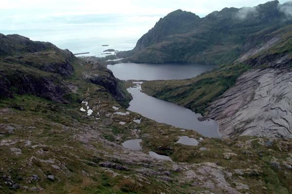 Zdjęcia: Lofoty, Lofoty, morze i jeziora, NORWEGIA