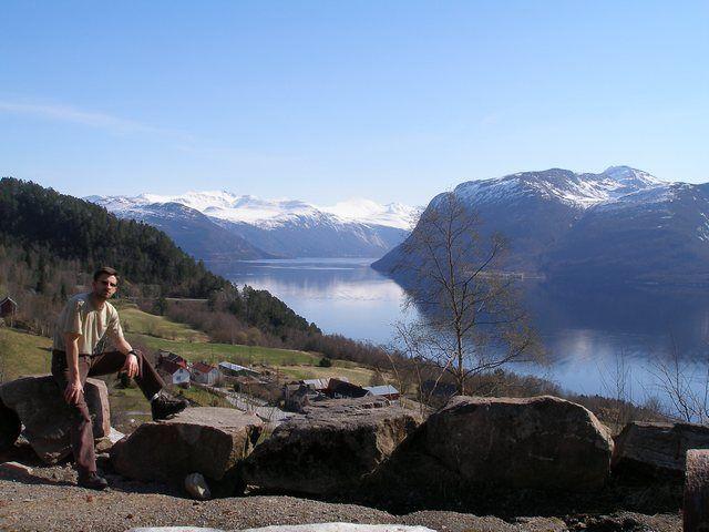 Zdj�cia: Okolice Bergen, Fiordy, NORWEGIA
