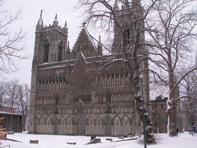 Zdjęcia: Trondheim, Katedra, NORWEGIA