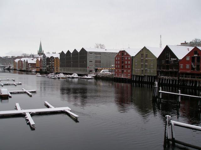 Zdjęcia: Trondheim, Przystań, NORWEGIA