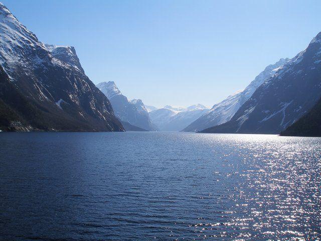 Zdjęcia: Trasa Bergen-Oslo, Ładny widok, NORWEGIA