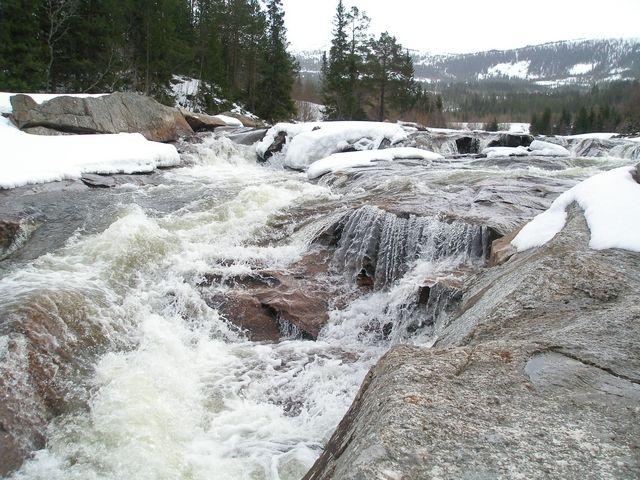 Zdjęcia: Droga nr.6, rzeka, NORWEGIA