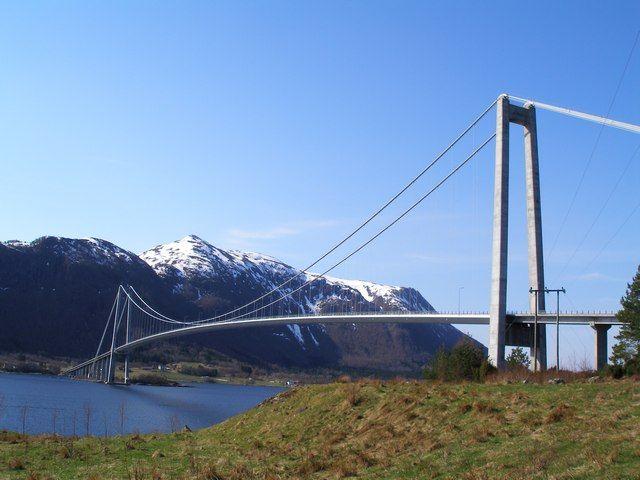 Zdjęcia: Most do Kristiansund, Most, NORWEGIA