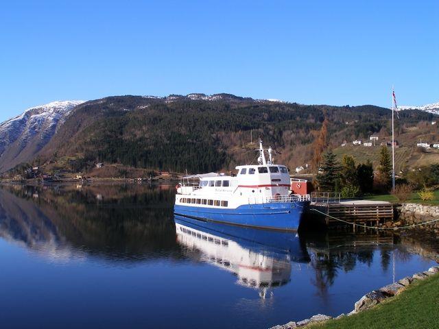 Zdjęcia: Trasa Bergen-Oslo, Nad Fiordem, NORWEGIA