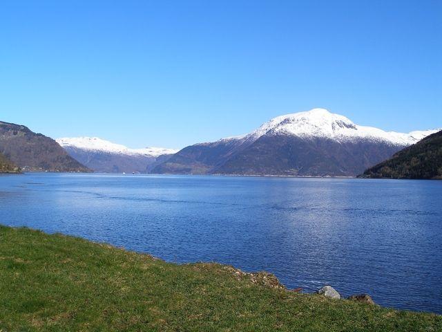 Zdjęcia: Trasa Bergen-Skien, Fiord, NORWEGIA