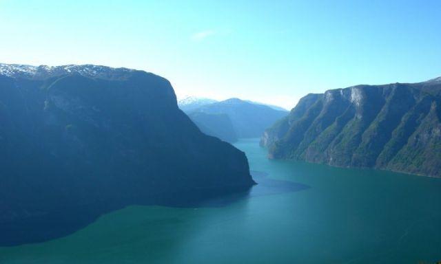 Zdjęcia: Sognefjord, Z widokiem na fiord.., NORWEGIA