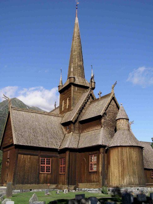 Zdjęcia: fiordy zachodnie, STAVKIRCHE, NORWEGIA