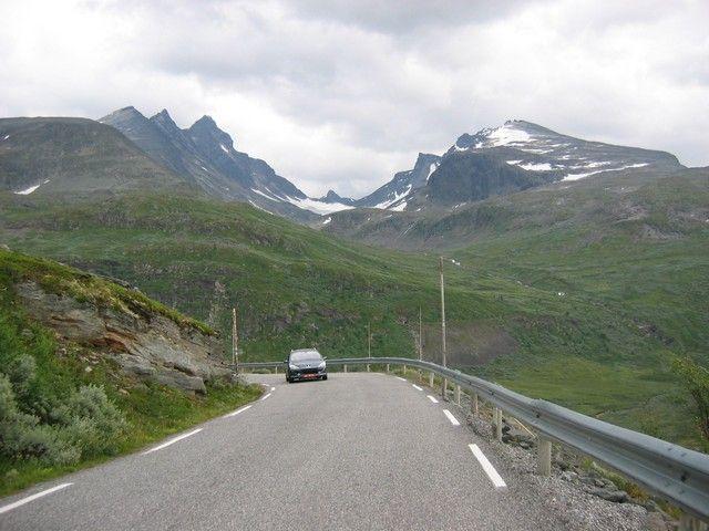 Zdj�cia: Jotunheimen, Widok, NORWEGIA