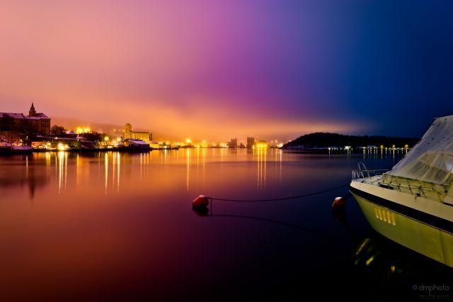 Zdjęcia: Oslo, Norwegia, After the sunset, NORWEGIA