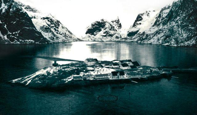 Zdj�cia: moskines, lofoty, wyspa, NORWEGIA