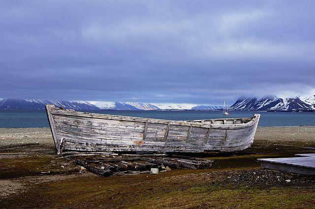 Zdjęcia: Calypsobyen, Svalbard, Zakotwiczyć tu można..., NORWEGIA