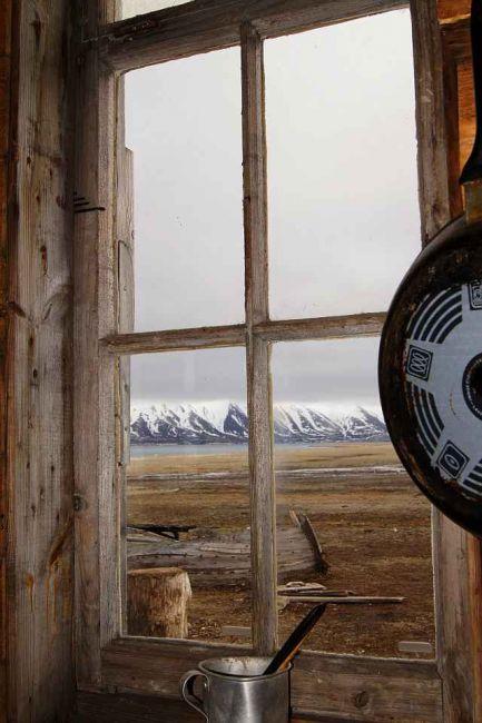 Zdjęcia: Calypsobyen, Spitsbergen, Okno do patrzenia w dal, NORWEGIA