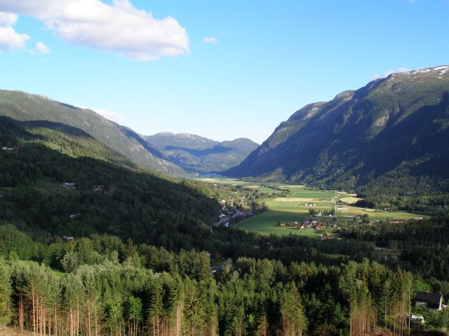 Zdjęcia: Telemark, widok, NORWEGIA