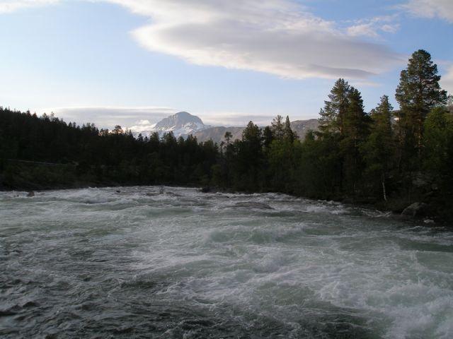 Zdjęcia: Koło podbiegunowe, rzeka, NORWEGIA