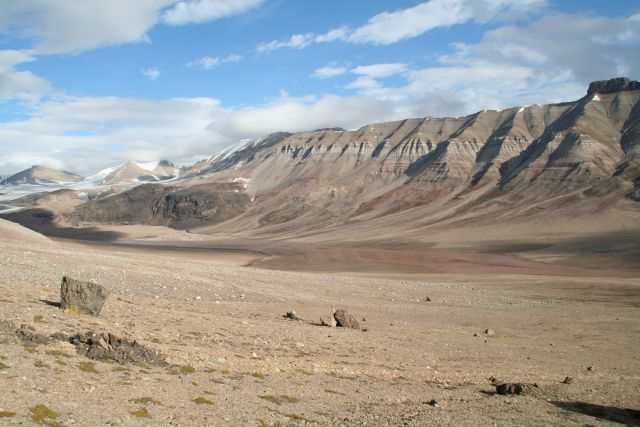 Zdj�cia: Dolina Ebby, Svalbard, Gdzie� w dolinie Ebby, NORWEGIA