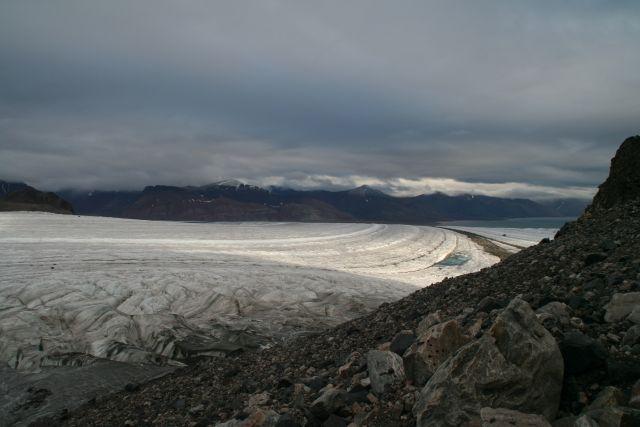 Zdjęcia: Widok na Viedefjord....., Svalbard, Przedsmak Bieguna, NORWEGIA