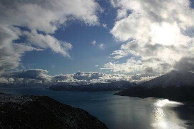 Zdjęcia: Vordie przeciera się, Svalbard, Kolory Svalbardu, NORWEGIA