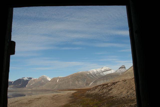 Zdjęcia: w naszej toalecie drzwi nigdy nie zamykalem, Svalbard, z toalety, NORWEGIA