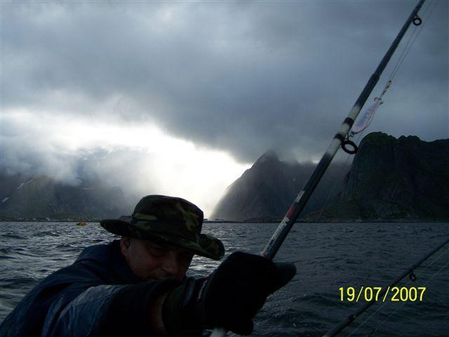 Zdjęcia: Lofoty, Na rybach 1, NORWEGIA