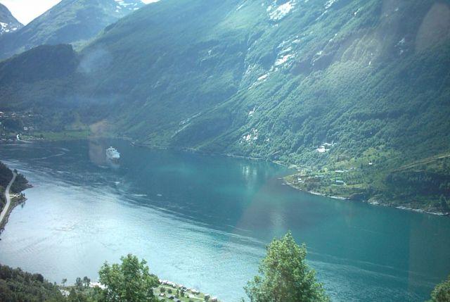 Zdjęcia: Gairanger, srodkowo zachodnia Norwegia, Fiord Gairanger, NORWEGIA