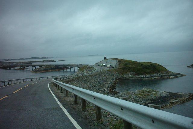 Zdjęcia: nad morzem norweskim, droga atlantycka, NORWEGIA