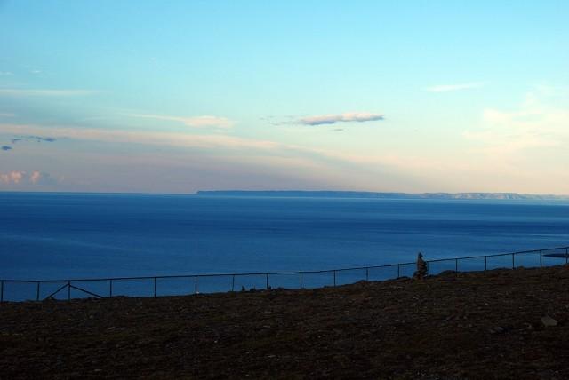 Zdjęcia: Nordkapp, Finmark, Morze Barentsa i przylądek Nordkinn widoczne z Nordkapp, NORWEGIA