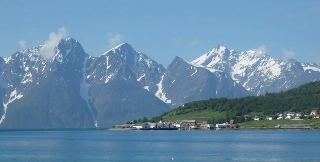 Zdjęcia: Norwegia, Norwegia , Śnieżne Kolosy w błękicie, NORWEGIA