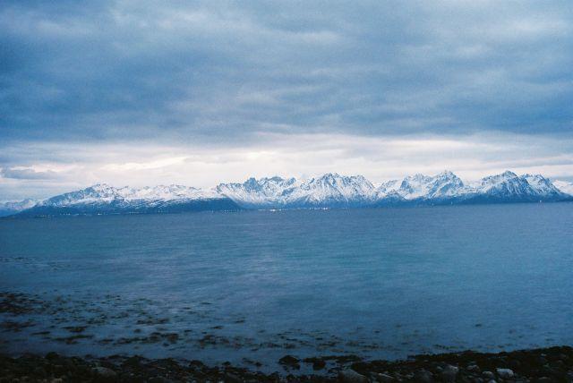 Zdjęcia: Fiord na Północny-Zachód od Narwiku, Północny Nordland, WIDOCZEK NORWESKI, NORWEGIA