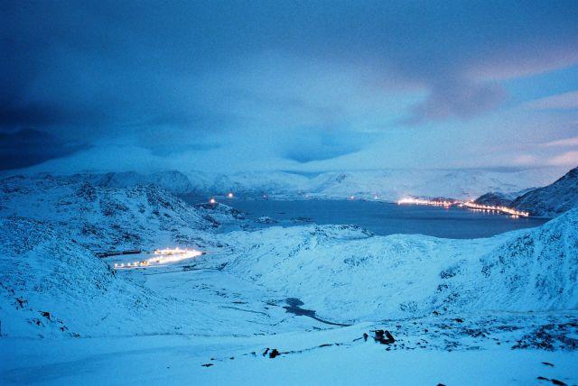 Zdjęcia: Okolica Nordkappu, Morza Barentsa, Niedaleko Nordkappu, NORWEGIA