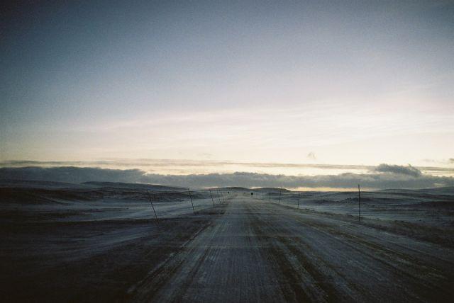 Zdjęcia: Pustkowie w drodze na BERLEVAG, Morza Barentsa, ARKTYCZNA DROGA, NORWEGIA