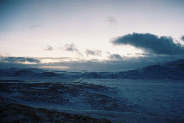 Zdjęcia: Jadąc na berlevag, VARANGER HALVOYA, ARKTYCZNE PUSTKOWIE, NORWEGIA