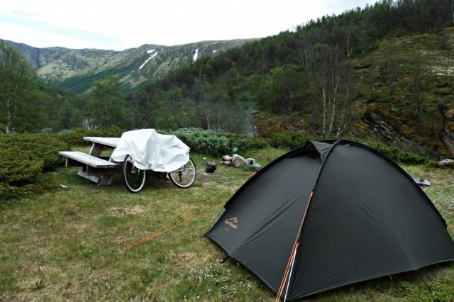 Zdjęcia: Rondane, Rondane, Idealne miejsce na obóz, NORWEGIA