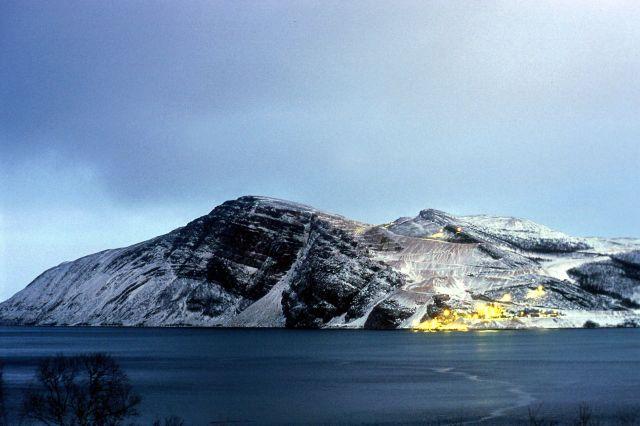 Zdjęcia: Południe Tanafjorden, WSCHODNI FINNMARK, FIORD, NORWEGIA